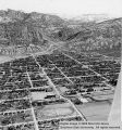 Aerial view of Cedar City, Utah