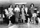 Sorority girls bowling
