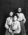 Three (3) women faculty: left-Annie Spencer, right-Maude Eastwood, front-unkown (#40)