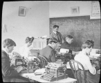 Typing class, 1905-1906