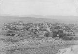 Aerial view of Cedar City [Utah] looking west abt.1902