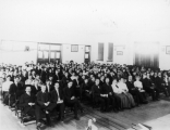 Faculty on front. row, 1908