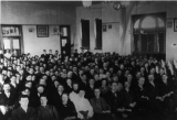 Gathering at the Branch Normal School Chapel