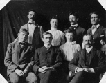 Branch Normal School faculty about 1904