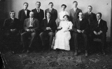 Branch Normal School faculty, 1910