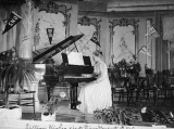 First piano graduate, Lillian Higbee