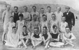 Track and field team, 1916