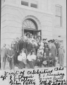 Visit of celebrities to the campus--1905