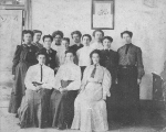 Group of women at the Branch Normal School