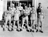 Geary, Elmo -- Huntington High School Basketball Team 1927