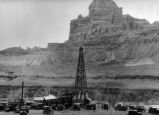 San Rafael Swell -- Mining -- Oil Rig at Window Blind Peak
