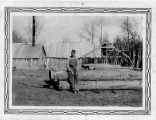 Civilian Conservation Corps -- Castle Dale -- Camp DG-27 Company 529 -- Wood for Bridge Came from...