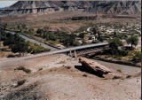 San Rafael Swell -- San Rafael Bridges, new and old