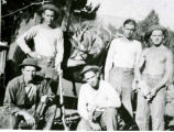 Civilian Conservation Corps -- Ferron -- Camp F-11 Company 959 -- Owen Price -- Buddies of Owen...