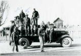 Civilian Conservation Corps -- Feron -- Camp F-11 Company 959 -- Owen Price -- Ferron Crew in Truck