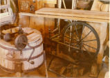 San Rafael Swell -- Swasey Family -- Royal Swasey -- Inside Milk Barn Museum