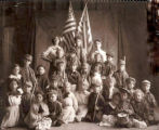 Wakefield, Adeline Leonard -- Primary Children about 1912