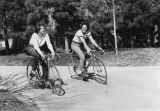 Students on Bicycles