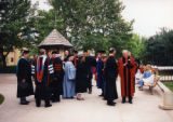 Faculty before graduation ceremony