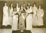 1971 Homecoming Queen contestants