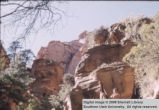 Rock formations, near Kanarraville, Utah