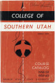 1958 Catalog of College of Southern Utah