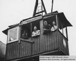 World War II, ski lift at Innsbruck