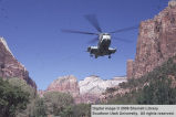 Zion National Park, Helicopters in Zion Canyon