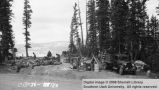Civilian Conservation Corps construction at Cedar Breaks