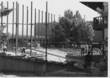 Construction of Adams Theater