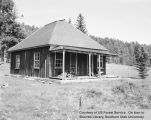 Old Wildcat house at Teasdale Ranger Station