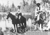 Rangers Walter Hanks and Phil Baker at Long Lake
