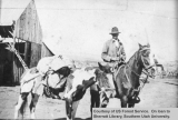 Ranger Walter Hanks coming out of Dixie National Forest at Pine Valley