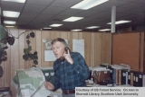 Man in Dixie National Forest Supervisor's office