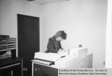 Woman working at Dixie National Forest Supervisor's office