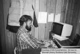 Man working at Dixie National Forest Supervisor's office