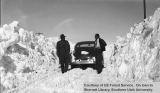 Emergency snow removal, 1949