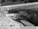 Watershed management, Podunk Creek loose rock drop structure