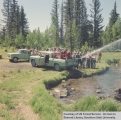 Fire training at Duck Creek for Dixie National Forest personnel