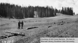 CCC project, construction of boundary fence, Cedar Breaks National Monument