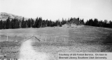 CCC project, after construction of boundary fence, Cedar Breaks National Monument