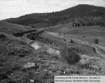 Watershed management, East Fork, terraces
