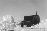 Emergency snow removal, truck, 1949
