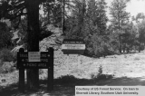 Red Canyon Campground, entrance on D-5