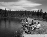 Recreation, fishing at Duck Creek