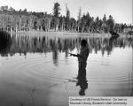 Recreation, fishing at Pine Valley
