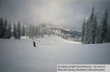 Recreation, skiers at Brian Head Ski Resort
