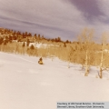 Recreation, snowmobiling by Deer Trail Lodge