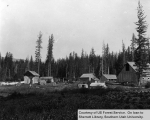 Settler's buildings within Kaniksu National Forest, Idaho