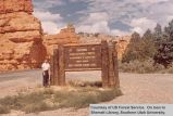Signs, Red Canyon entrance